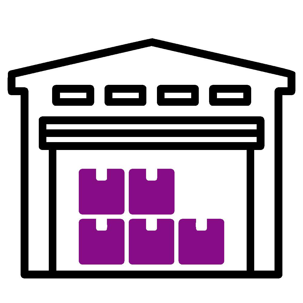 Icon - Kontraktlogistik - Warehousing