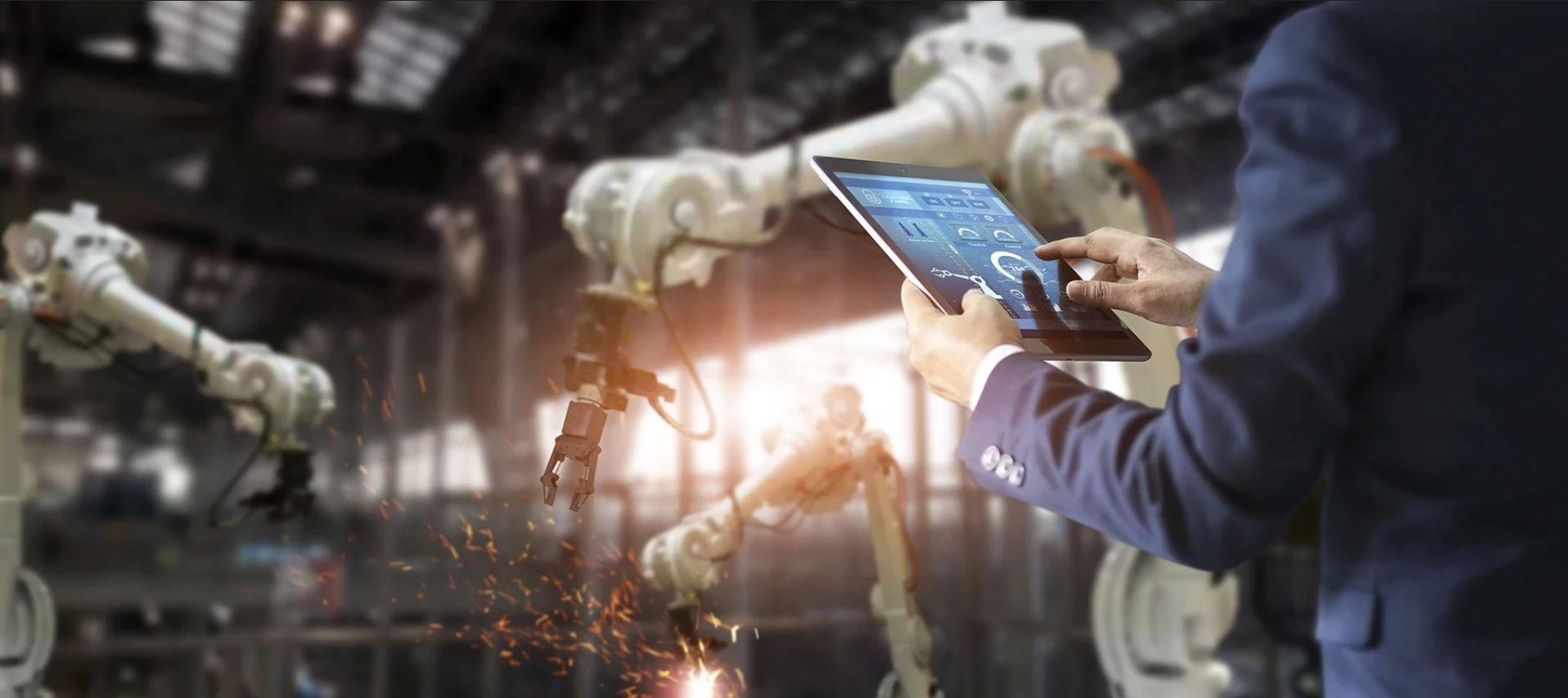 Header Industrie 4.0 und digitale Transformation