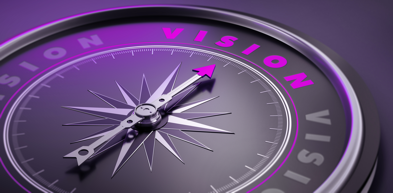 Lila Leitbild Werte Mission Vision Antrieb