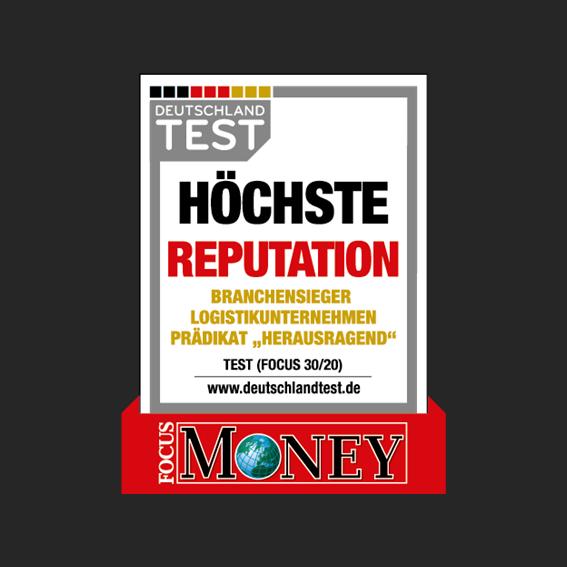 FOCUS Money Höchste Reputation - Auszeichnungen